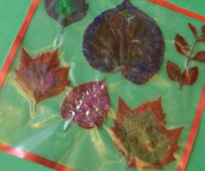 LeafPlacemat,craft