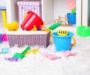 9 Simple Tricks to Organize Your Kids' Playroom