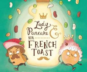 Lady Pancake and Sir French Toast, book