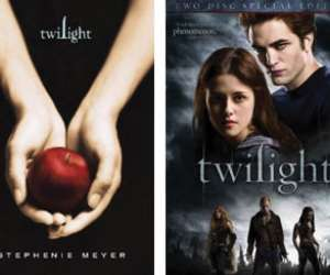 TwilightSeries,BookandDVDFilmCovers