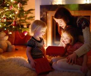 Children's First Christmas after Divorce