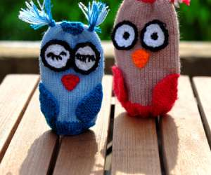 Mitten Beanbag Craft for Kids