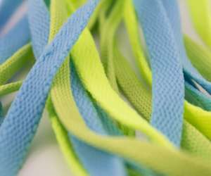 Painted Shoelaces Activity for Kids