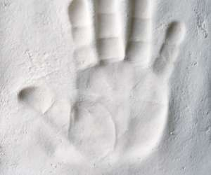Plaster Handprint Plaque Activity for Kids