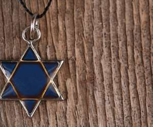 Star of David Necklace for Kids