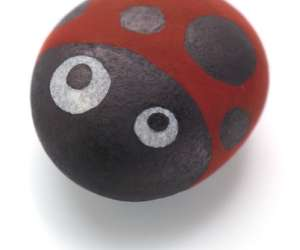 Stone Paperweight Activity for Kids